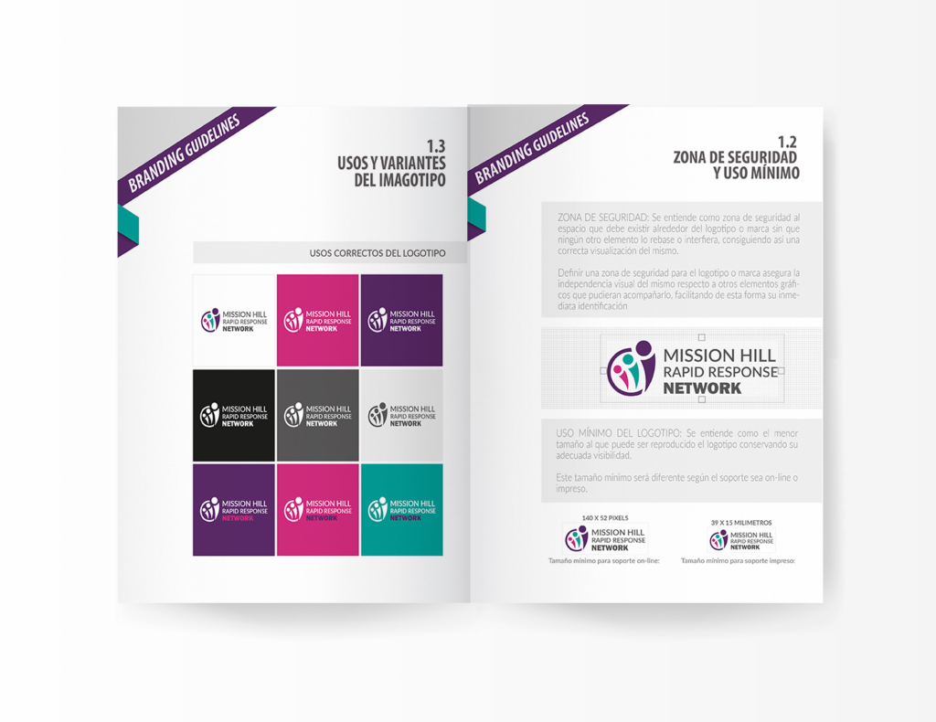 DISEÑO DE LOGOTIPO Y MANUAL DE IDENTIDAD MISSION HILL RAPID RESPONSE NETWORK